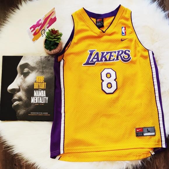 Lakers Kobe #8 Jersey L Youth M Women's